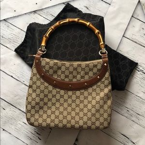 64f47c9d0c8 Women s Gucci Vintage Bamboo Handle Handbag on Poshmark